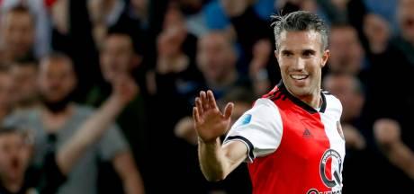 Van Persie bedankt voor testimonial bij Feyenoord