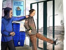 Winkeldief vraagt vriend met een 'blaffer' naar de Aldi te komen, of toch niet?