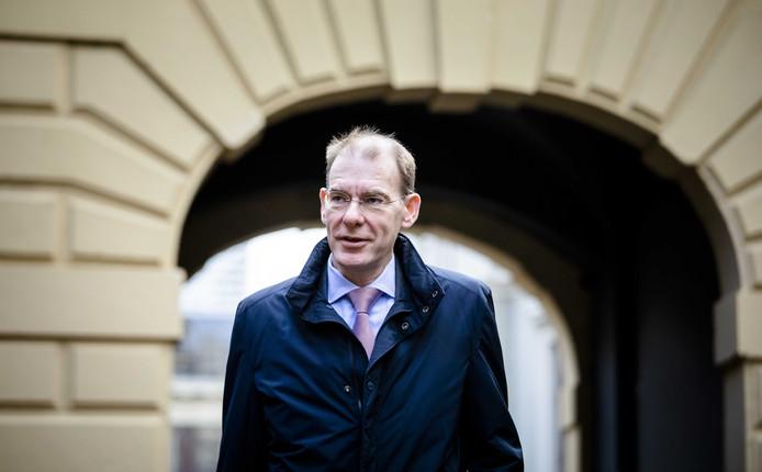 Archiefbeeld ter illustratie: staatssecretaris Menno Snel van Financiën (D66)
