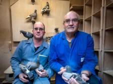 Bij Louis, Annet, Eugene staan duiven op 1. Hun duivenclub in Goirle bestaat 100 jaar