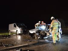 Ravage en gewonden na frontale aanrijding op N710 bij Swifterbant