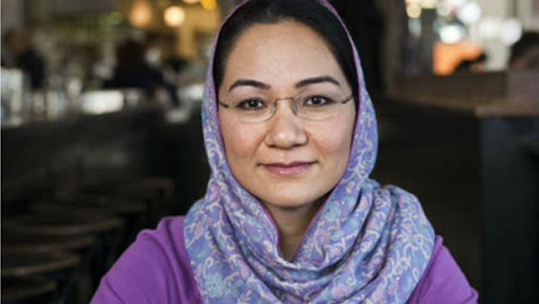Shirin Musa van Femmes for Freedom was de eerste vrouw die via de rechter haar ex-man dwong een einde te maken aan het huwelijk dat ze voor een imam in Nederland hadden gesloten. Beeld Arie Kievit