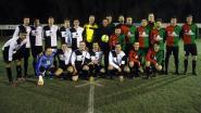 Derby lokt ondanks winterkou vierhonderd voetbalfans