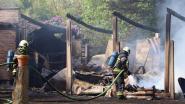 Taverne 't Lilshof loopt zware schade op door uitslaande brand