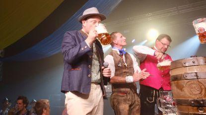 FOTO. Burgemeester De Wever slaat trefzeker vat aan en opent Antwerpse Oktoberfest