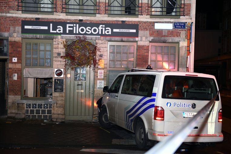 De kans dat restaurant La Filosofia vandaag de deuren zal openen, is eerder klein.
