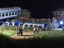 Trein ontspoord in Italië: twee doden, meerdere gewonden