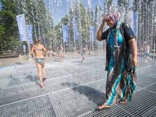 De waterkraan staat wagenwijd open, maar het record is nog niet gebroken