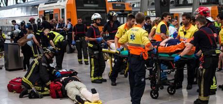 Tientallen gewonden bij treinongeluk Barcelona