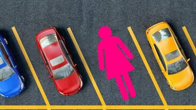 Nieuw in China: XL-parkeerplek voor vrouwen