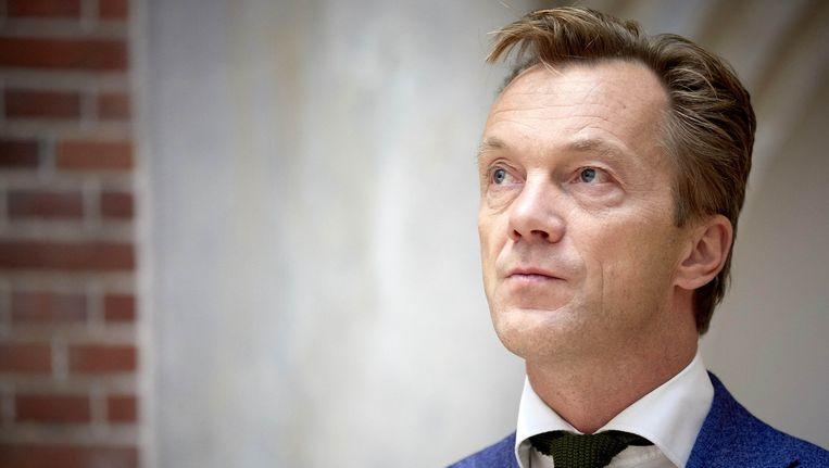 Wim Pijbes, juryvoorzitter van de Libris Literatuur Prijs, maakte maandag de shortlist bekend. Beeld anp