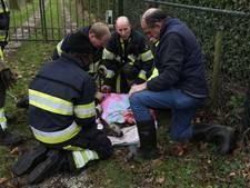 Ree overlijdt alsnog nadat de brandweer haar bevrijdt