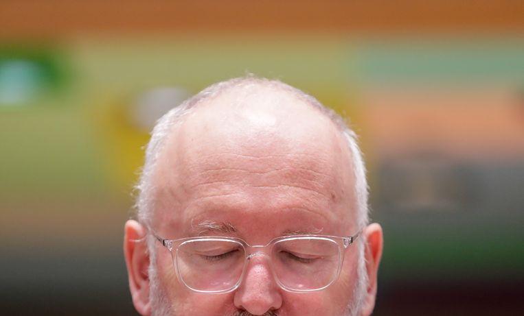 Frans Timmermans  Beeld EPA