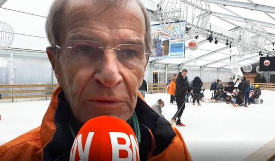 Hans van Hoek, voorzitter Stichting ijsbaan op de Markt in Roosendaal