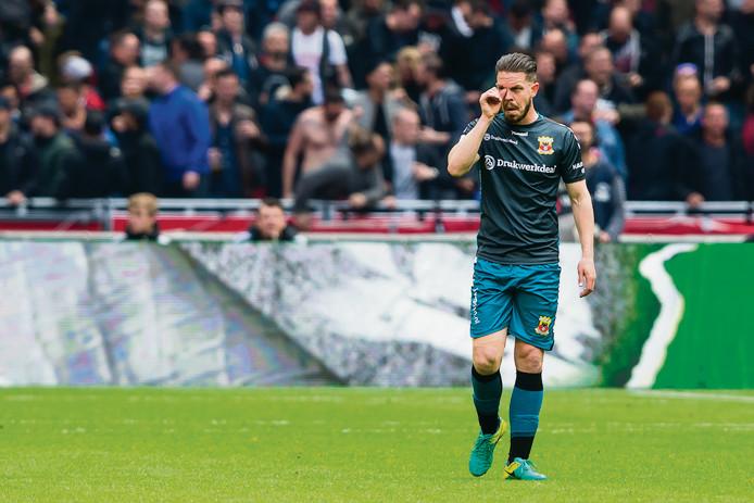 Sander Duits voetbalt komend seizoen in Putten.