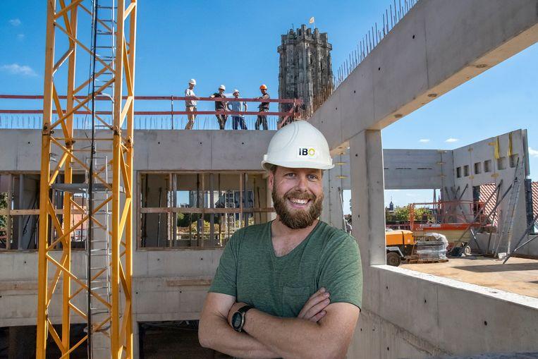 Tom Huysmans is werfleider voor de nieuwbouw op TSM. Op de plek dus waar hij de stiel leerde.