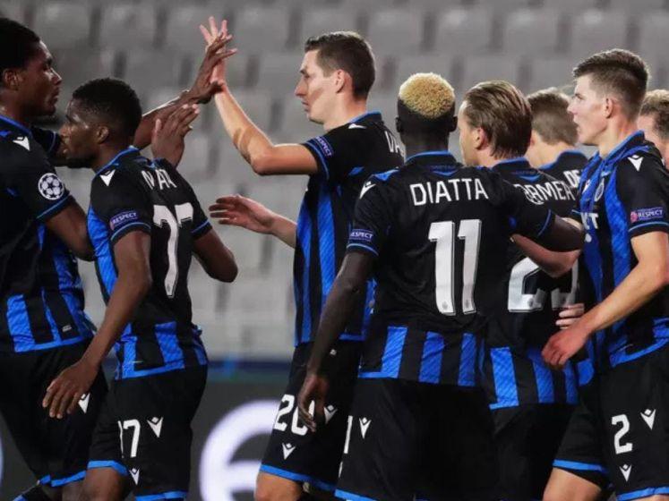 Hoogtepunten uit Club Brugge - Lazio