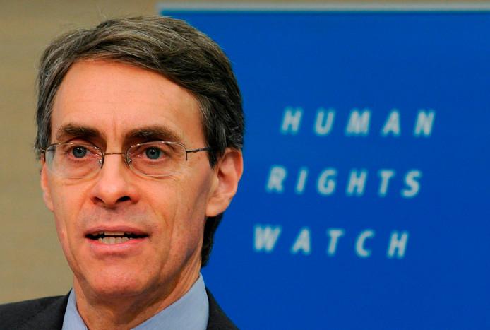 Kenneth Roth, de baas van mensenrechtenorganisatie HRW.