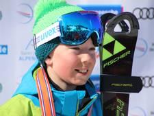 Skiër Youp Duvekot pakt zilveren medaille in Oostenrijk