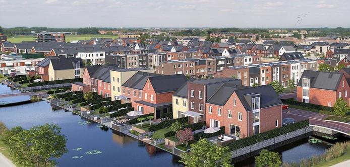 Bewoners kunnen de huizen zelf samenstellen.