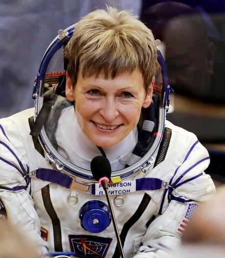 Astronaute vestigt Amerikaans ruimterecord