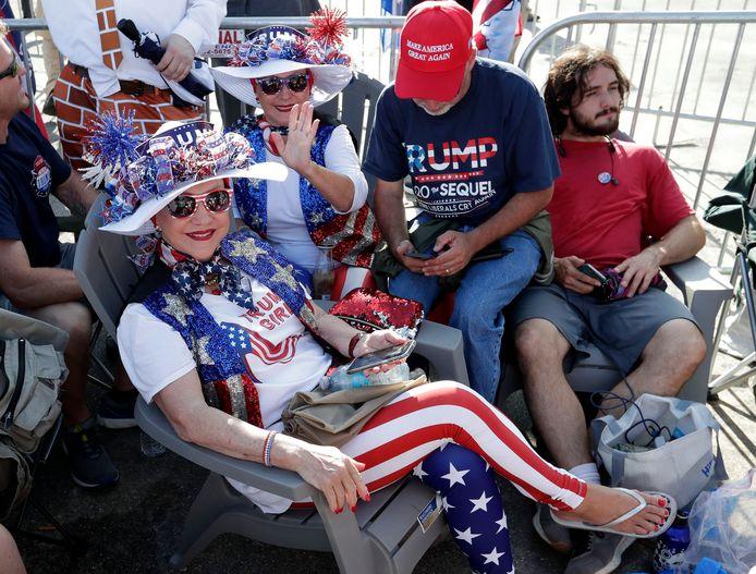 De aanhangers van Trump zijn er klaar voor.