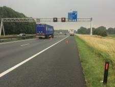 Truck met pech is weg, A12 bij Zevenaar weer vrij