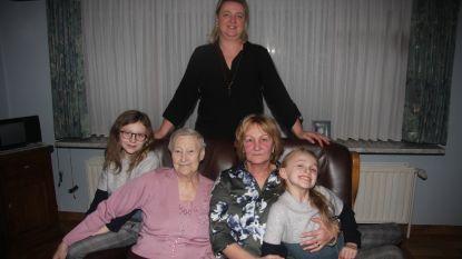 Feest in de familie Uyttersprot: 65 jaar gehuwd en viergeslacht