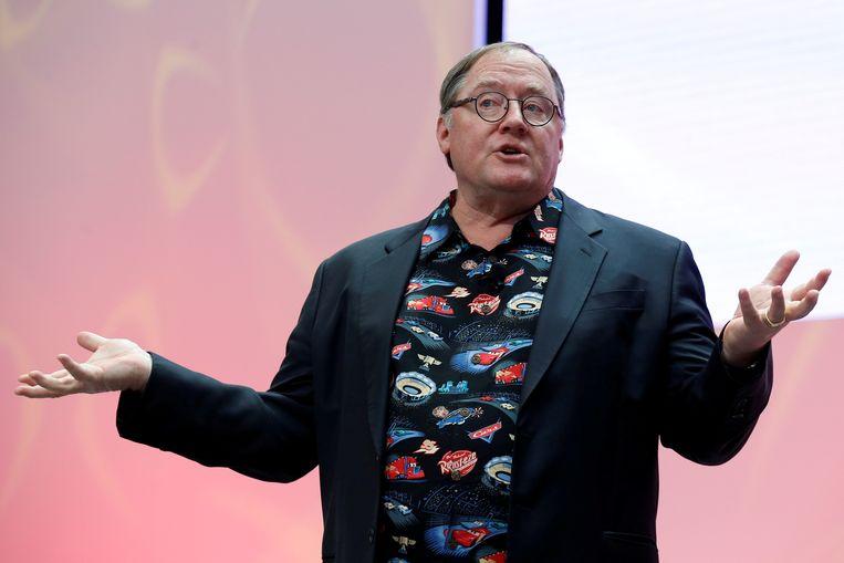 John Lasseter, CCO van Walt Disney en Pixar.
