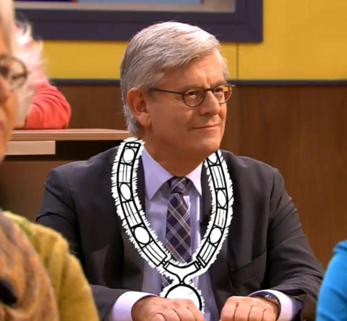 Still van Burgemeester Aptroot in de Reünie