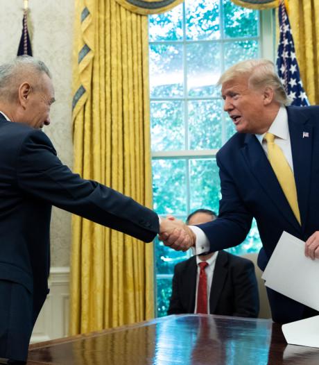 Trump: gedeeltelijke handelsdeal VS-China in de maak