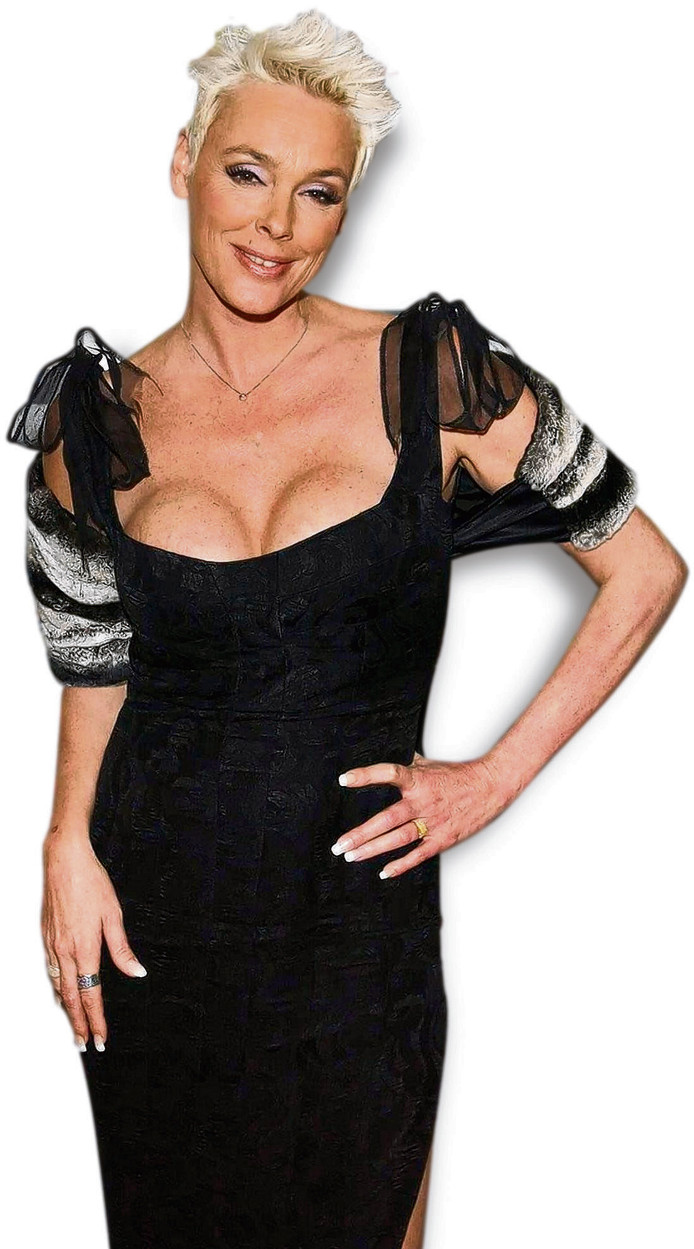 Brigitte Nielsen.