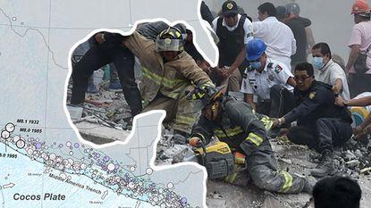 Waarom is Mexico zo vatbaar voor aardbevingen? En waarom is de schade zoveel groter in de hoofdstad?