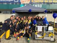 Hockeyoverzicht:  Deventer hockeyvrouwen stabiele middenmoter