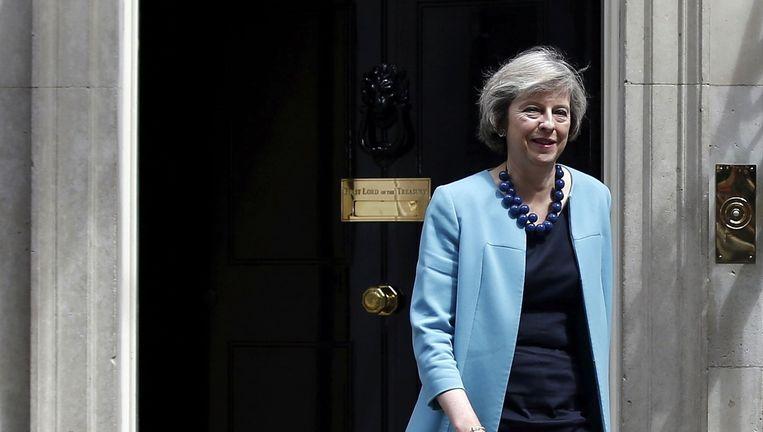 Minister op Binnenlandse Zaken Theresa May. Beeld reuters