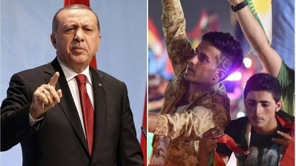 Erdogan dreigt met oorlog na referendum Iraakse Koerden