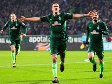 Werder Bremen wint eindelijk en doet dat direct overtuigend