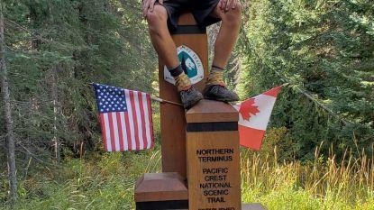 Niels De Groot (20) in zes maanden te voet van Mexico naar Canada