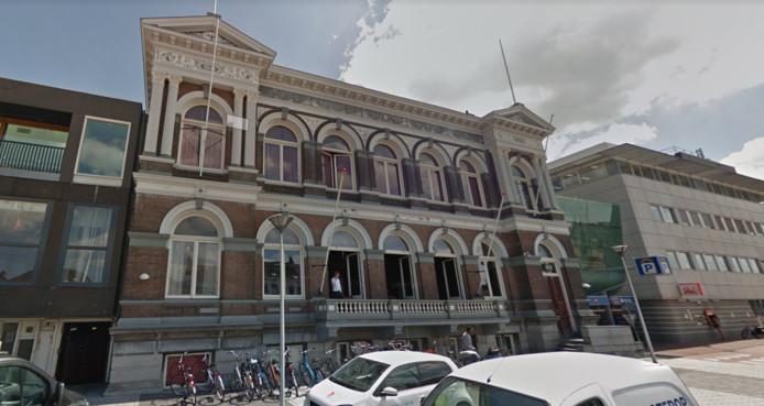 Een van de gebouwen van het Delftsch Studenten Corps