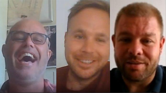 Rudy Boogert, Juriën Dam en Barry van der Hooft in de laatste Voetbal Vodcast van dit seizoen.