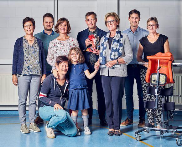 De provincie Vlaams-Brabant geeft een subsidie aan de ontwikkeling van een exoskelet voor kinderen.