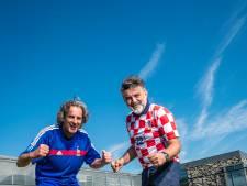 Fransman Sam en Kroaat Domagoj kijken met spanning uit naar finale WK