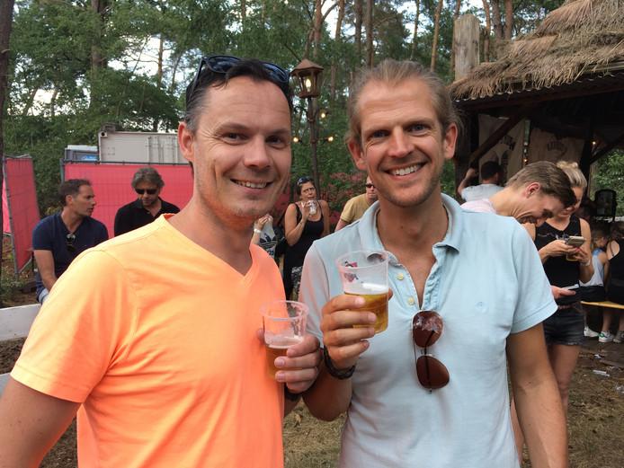 Richard (l) en Hans uit Hellendoorn