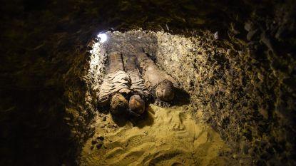 VIDEO. Grafkamers gevonden met veertig mummies