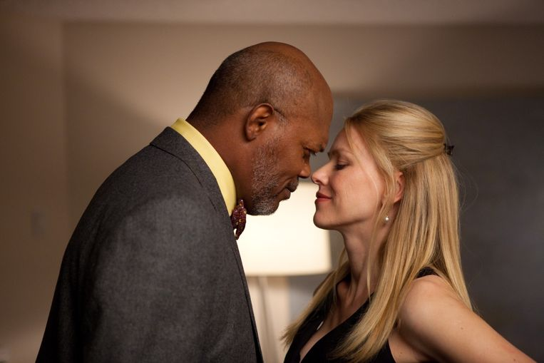 Samuel L. Jackson en Naomi Watts in Mother and Child van Rodrigo Carcía. Beeld