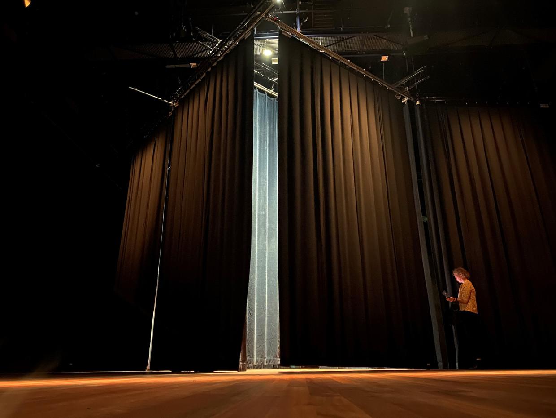 I Open at the Close, een theatrale installatie van Bram van Helden in De Nieuwe Vorst in Tilburg. Beeld Karlijne van der Kooij