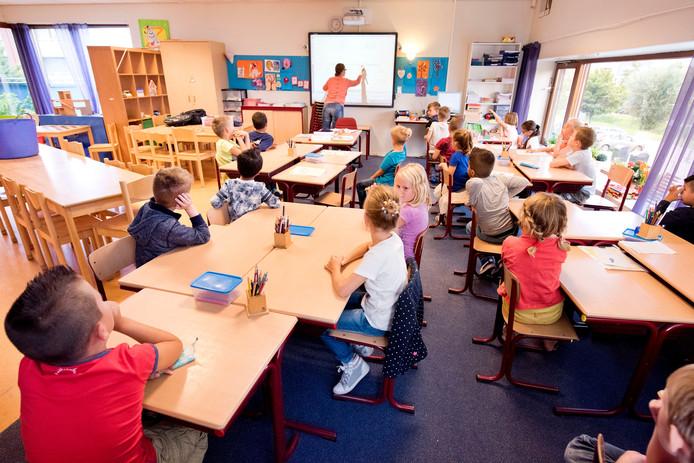 Ruimtes die voorheen alleen gebruikt werden voor buitenschoolse opvang, worden nu ook gebruikt als klaslokaal.