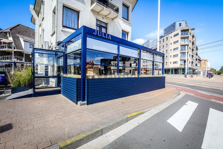Visrestaurant Julia in Sint-Idesbald.