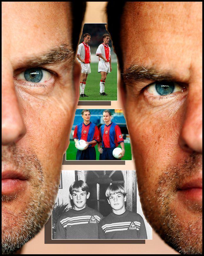 Ronald en Frank de Boer.