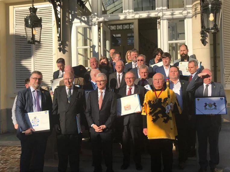 De Vlaamse Heraldische Raad droeg dit jaar 17 kandidaten voor
